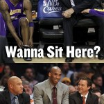 Black Mamba Takes Phil Jackson's Seat on the Bench