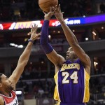Kobe Bryant Drops 31 on Washington